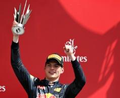 Verstappen revels in podium, Rosberg battle