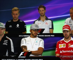 2016 United States GP - Thursday Press Conference