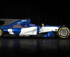 Sauber launches 2017 car