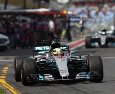 Mercedes leads Friday practice sessions