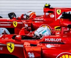 Ferrari scores front row lock-out