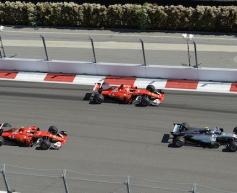 Ferrari ensured double podium