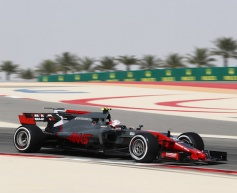 Haas positive over first practice results