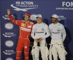 Bottas beats teammate for pole