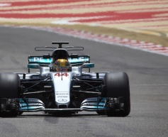 Hamilton quickest in opening testing day