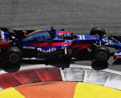 Toro Rosso struggled with speed