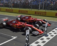 Ferrari locks front row in qualifying
