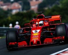 Ricciardo and Vettel top Friday practice
